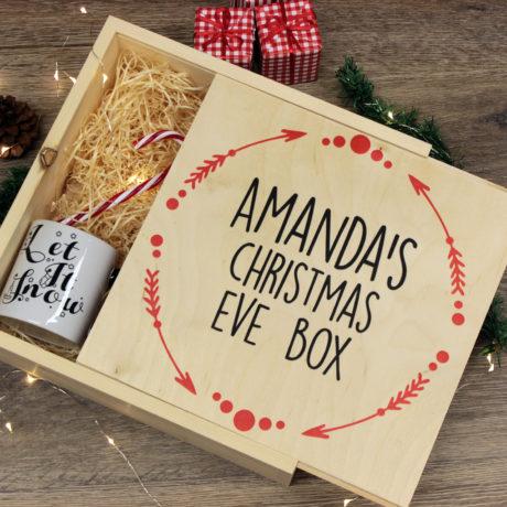 garland christmas eve box