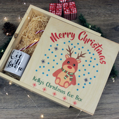 Rudolph Christmas eve box