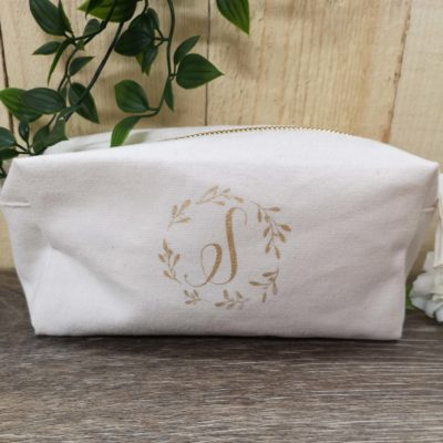 square makeup bag