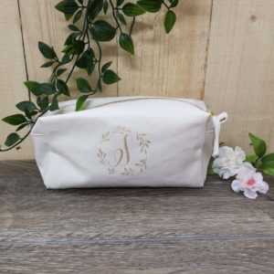 square makeup bag