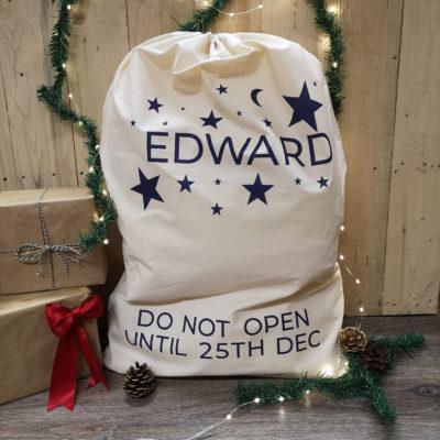 star-christmas-sack
