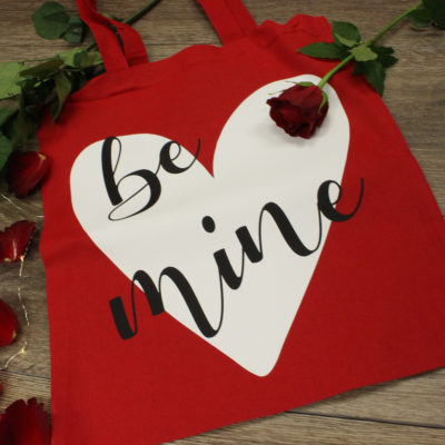 Be Mine Cotton Shopper Bag