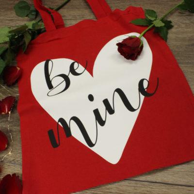 Be Mine Cotton Shopper Bag