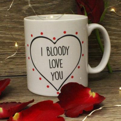 I Bloody Love You Mug
