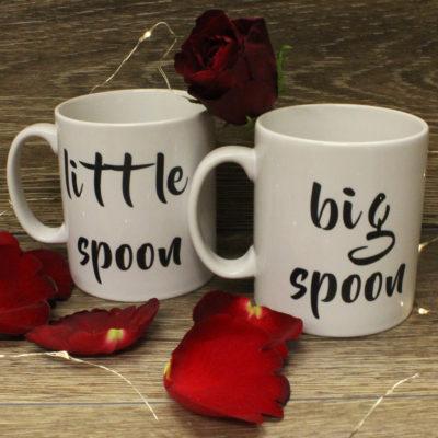 Big Spoon Little Spoon Mugs