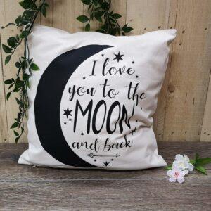 moon and back cushion