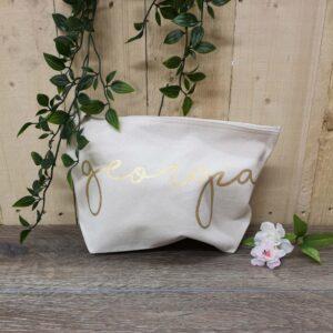 organic wash bag