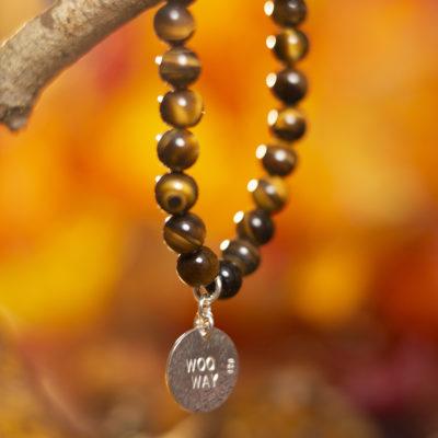Golden Tiger Eye woo way bracelet fmbranding gifts