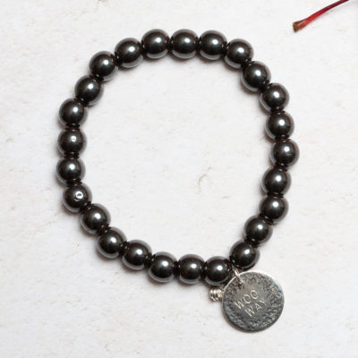 Hematite woo way bracelet fmbranding gifts