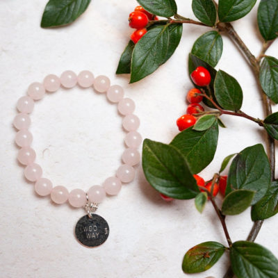 Rose Quartz Woo Way Bracelet fmbranding gifts