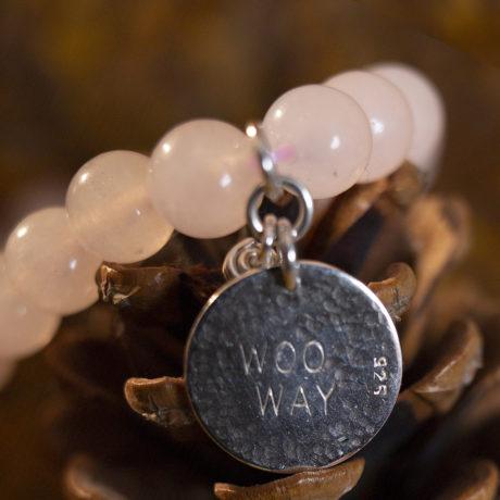 Rose Quartz Woo Way Bracelet fmbranding gifts
