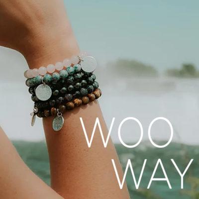 Woo Way bracelets fm branding