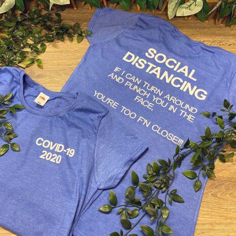 social distancing t-shirt fmbrandinggifts