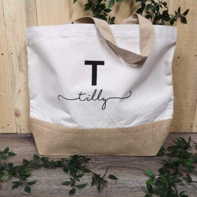 initial-tote-bag