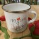 My Valentine Quarantine Enamel Mug FM Branding