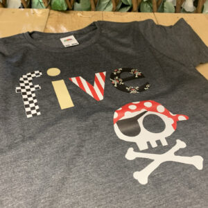 fifth birthday pirate t-shirt fmbranding gifts